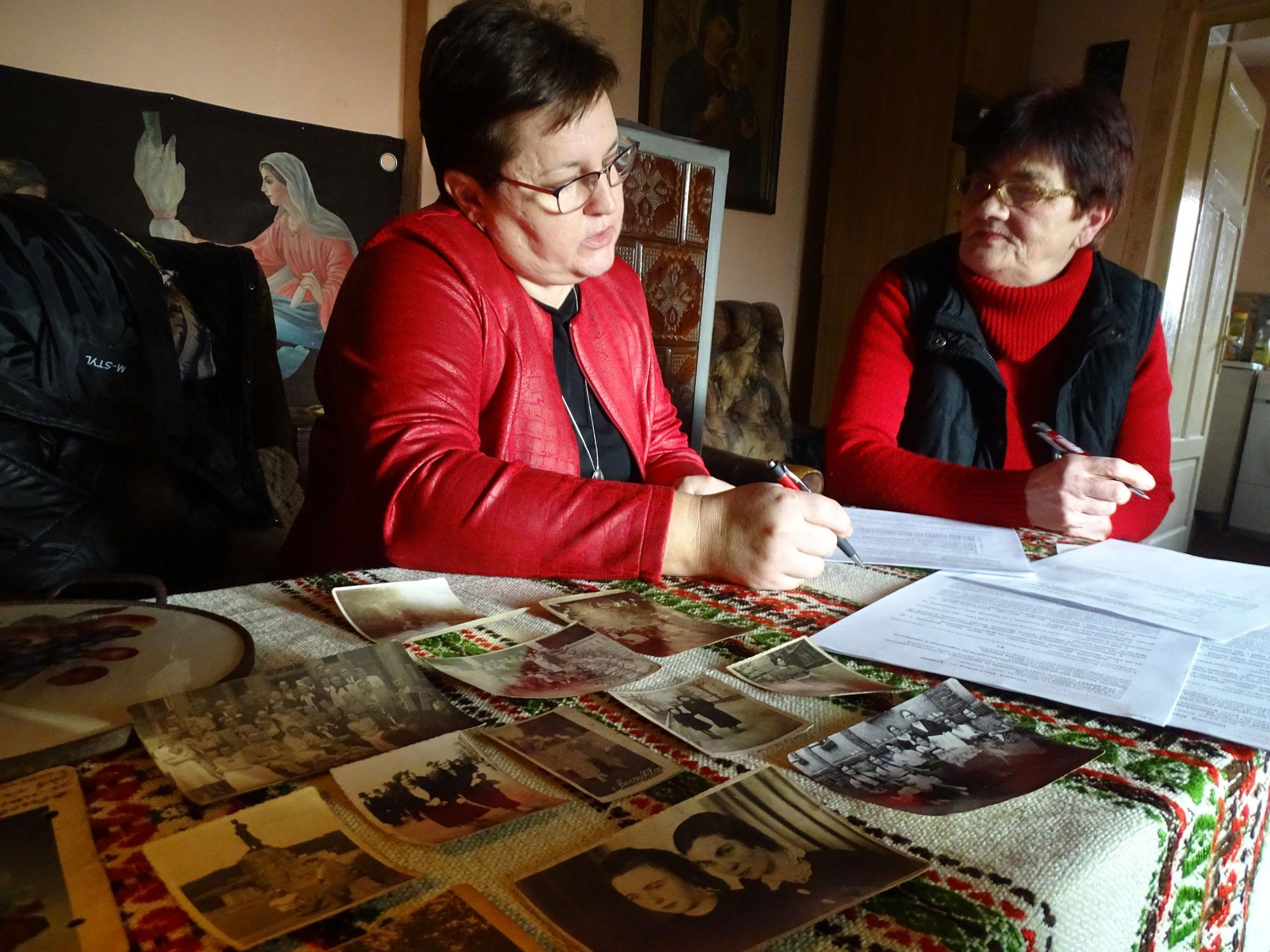 Przekazanie pamiątek na rzecz Muzeum Pamięci