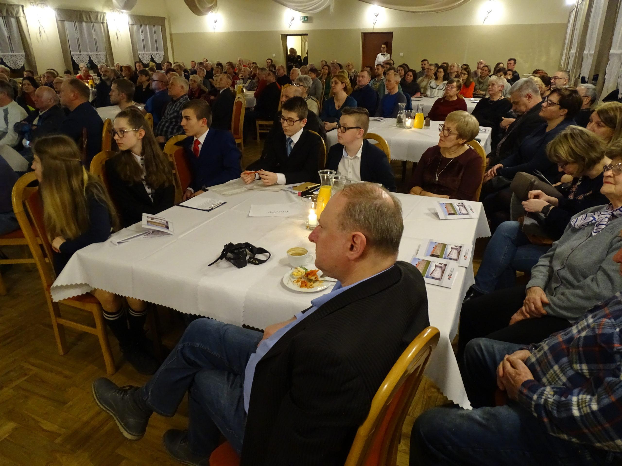 Uczestnicy spotkania w Brzeszczach