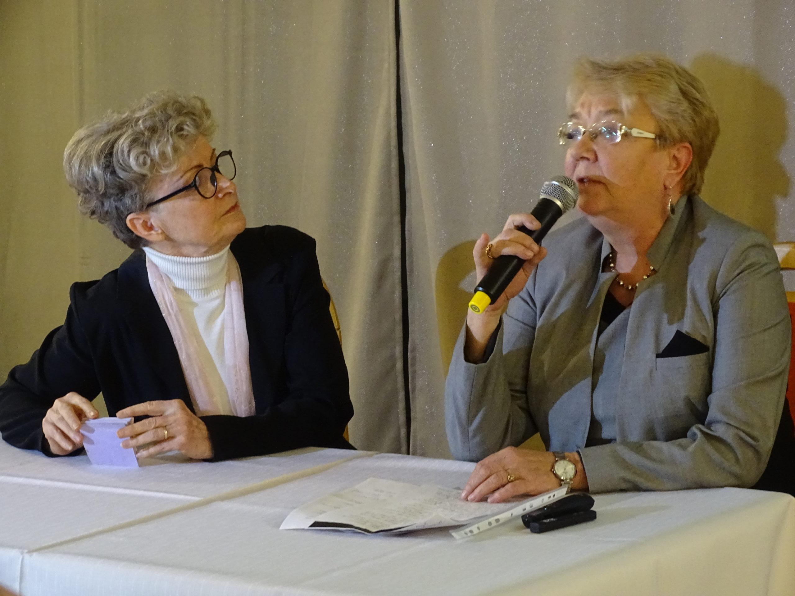 Stanisławę Morończyk wspominały Jolanta Morończyk i Małgorzata Morończyk